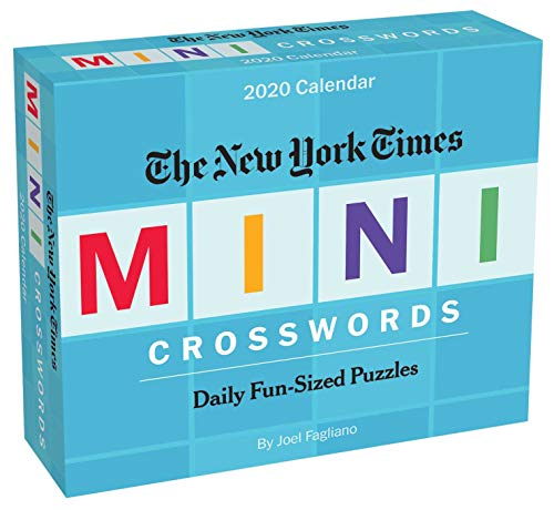 The New York Times Mini Crossword Puzzles 2020 Day-to-Day Calendar