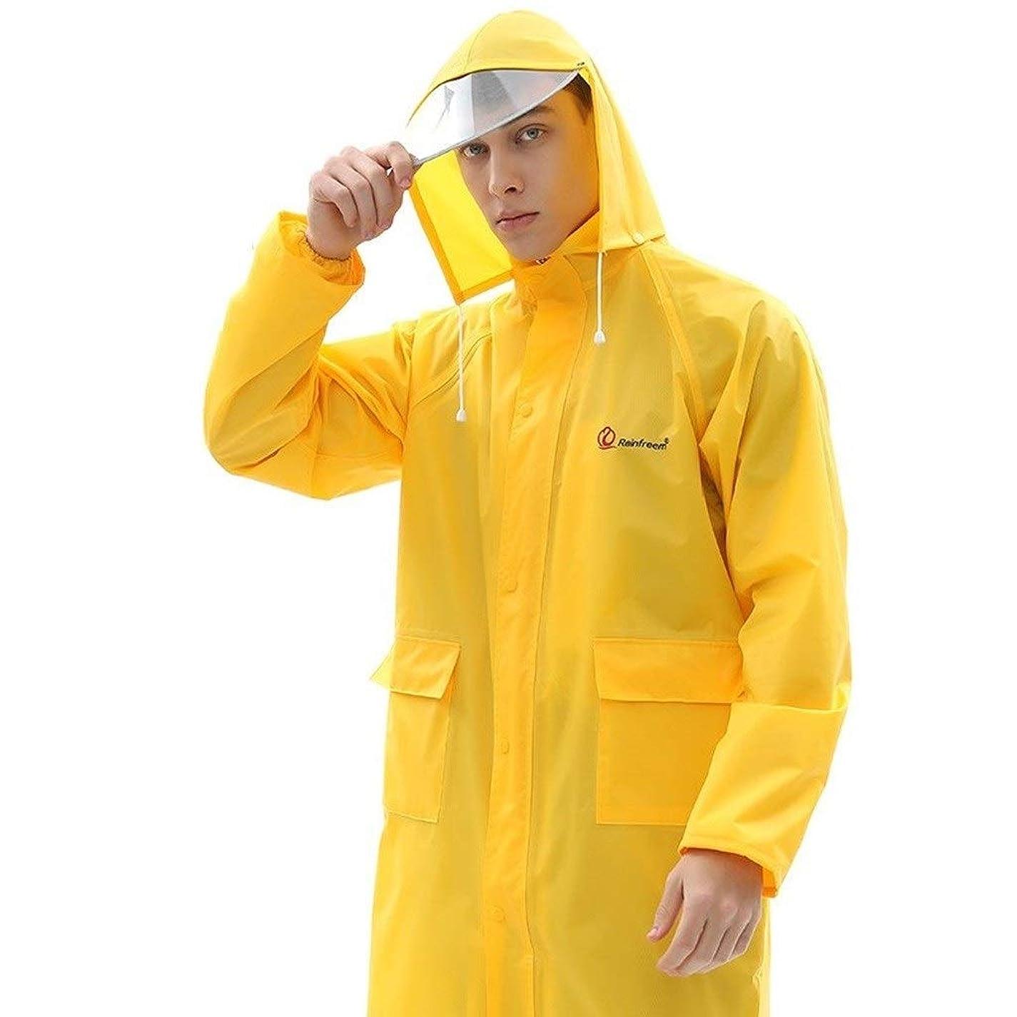 モジュール衣装レギュラーJCCOZ 軽量防水ユニセックスレインコートポンチョ、カラーメンズおよびレディースレインコート、防水ジャケット、緊急用ポンチョ、アウトドア用またはアクティビティ用 (Color : T, Size : M)