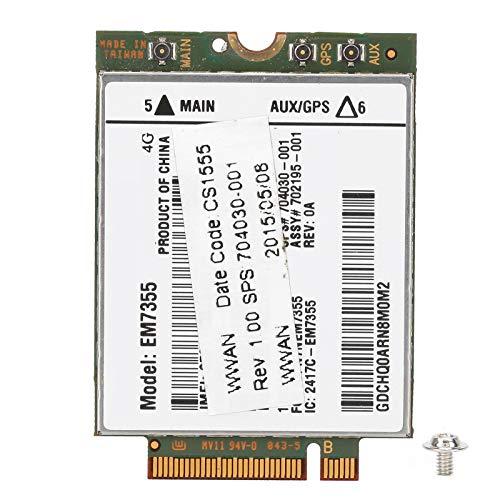 HelloCreate Tarjeta de red inalámbrica para HP lt4111 820EM7355 WWAN NGFF 4G LTE Module 704030-001