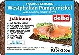 Delba Famous German Westphalian Pumpernickel Bread, 8.1 Ounce