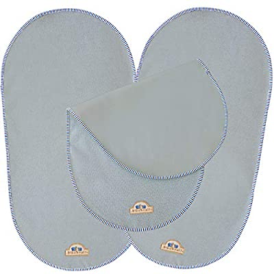 """BlueSnail Waterproof Changing Pad Liners for Babies 3 Count(Gray, 13.3""""x26"""")"""