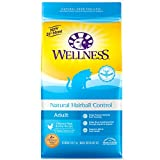 Wellness Complete Health Natural Dry Cat Food, Hairball Control Chicken Recipe,...