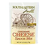 Southeastern Mills Cheddar Cheese Sauce Mix, 2.75 Oz. Package (Pack of 4)