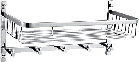 Koper drijvende planken wandgemonteerde opslagplanken voor keuken badkamer opvouwbare badkamer plank wandmontage mand voor...
