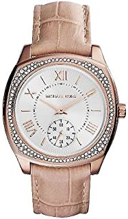 Michael Kors Bryn Women's Dial Leather Band Watch - MK2388