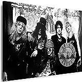 Myartstyle - Bilder Guns N Roses Band 115 x 75 cm