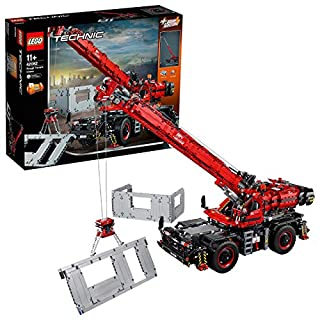 Lego - Technic Grande Gru Cingolata con Motori Power Functions, Sovrastruttura Motorizzata, Stabilizzatori, Argano e Braccio, con Funzioni Manuali, Set di Costruzioni per Ragazzi +11 Anni, 42082 (B0792RDN2Z) | Amazon price tracker / tracking, Amazon price history charts, Amazon price watches, Amazon price drop alerts