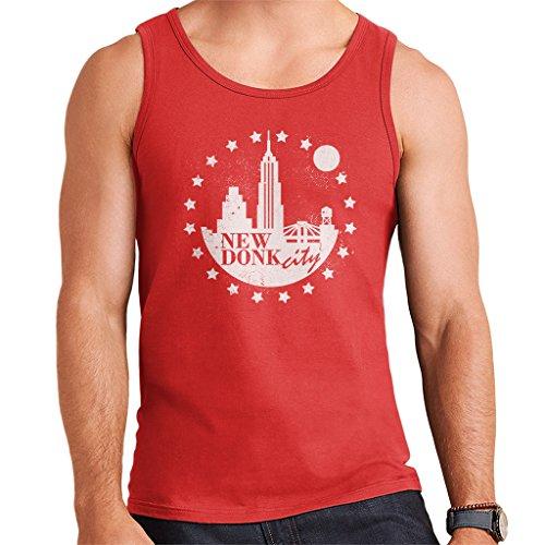 New Donk City Donkey Kong Men's Vest Red