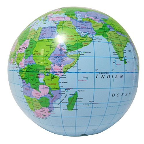 TOYMYTOY Globus Weltkugel Aufblasbare Wasserball Spielzeug