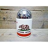 カリフォルニアリパブリック フタ付きドーム型灰皿 灰皿 [インテリア雑貨/喫煙具] 喫煙グッズ 喫煙雑貨 アメリカ西海岸 アメリカ USA