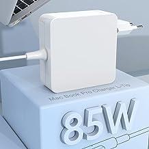 """Compatible con Cargador Mac Book Pro Adaptador de Corriente Punta en L de 85W Mac Book de 13""""y 15"""" y 17""""Pulgadas - Mediado..."""