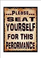 レトロおかしい金属錫サイン8 x 12インチ(20 * 30 cm)トイレバスルームwcブリキ看板警告通知パブクラブカフェホームレストラン壁の装飾アートサインポスター(fs-1-116)
