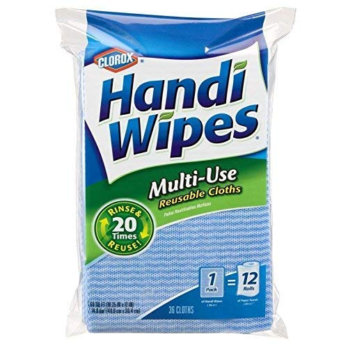 Clorox Handi Wipes Multi Use Reusable Cloths - 36 Count (Pack of One)