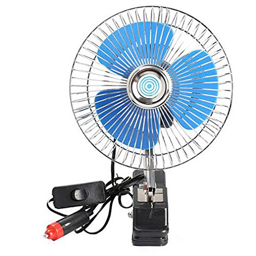 Preisvergleich Produktbild 12 V Mini Elektroauto Lüfterkühlung Geräuscharm Sommer Auto Klimaanlage Ventilator Tragbare Fahrzeug Auto Oszillierende Fan