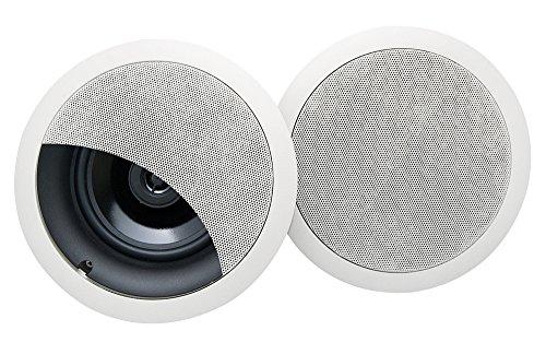 Legrand 36476402V1 OnQ 6.5-Inch In-Ceiling Speakers (Set of 2)