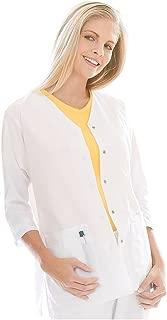 Women's 3/4 Sleeve Tunic Jacket' Scrub Top