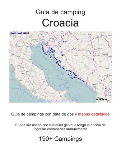 Guia de campings en CROACIA (con data de gps y mapas detallados)
