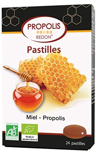 Propolis Redon Pastilles Miel Propolis Bio 24 Pastilles