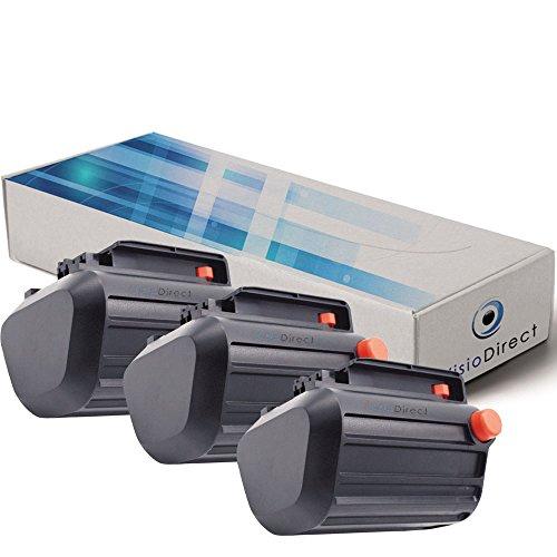 Lot de 3 batteries pour Gardena TCS Li-18/20 coupe branches 2500mAh 18V - Visiodirect -