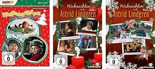 Weihnachten mit Astrid Lindgren - Vols. 1-3 (3 DVDs)