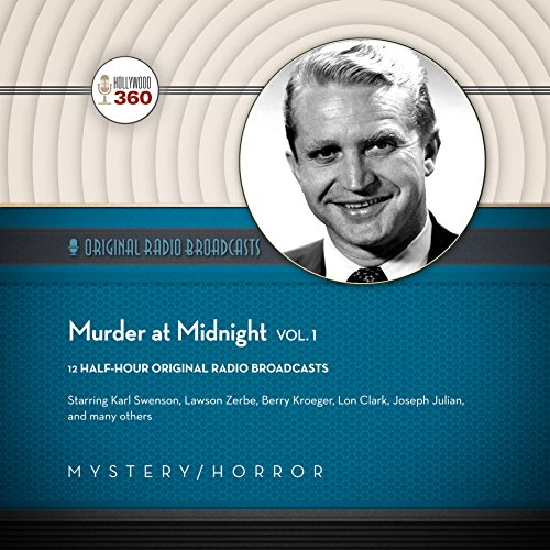 Murder at Midnight, Vol. 1 audiobook cover art
