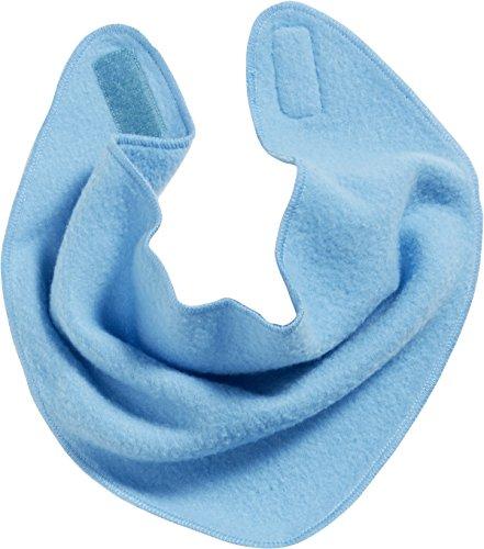 Playshoes Fleece-Dreieckstuch Foulard Tour De Cou, Bleu (Aqua Blau 23), Taille Unique Mixte