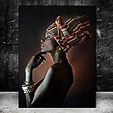 Pinturas al óleo hermosas de las mujeres negras...