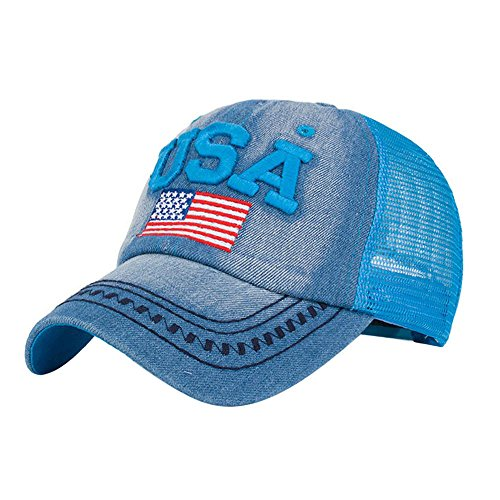 Purchase USA Flag Caps Unisex American Snapback Hip Hop Flat Hat Outdoor Sport Fitness Activity Base...