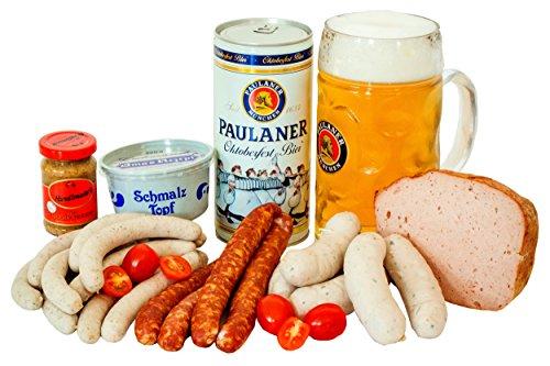 Oktoberfestpaket - Spezialitäten zur Wiesn inkl. 1 Liter Festbier & Maßkrug von Paulaner