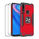 通用 Compatible avec Coque Huawei P Smart Z Case Antichoc Etui Silicone Magnétique Housse Support...