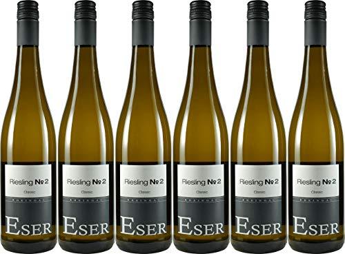 H.T. Eser Riesling No 2 Classic 2018 Feinherb (6 x 0.75 l)