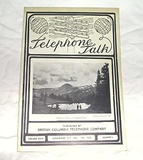 Telephone Talk Jan-Feb 1939 Volume XXIX, Number 1