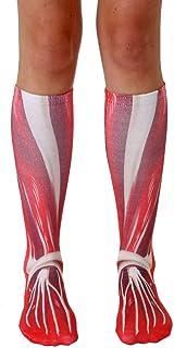 Unisex Muscle Knee High Socks