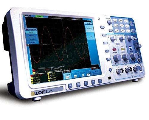 超薄型 1Gsサンプリング100MHzFFT機能付カラーポータブルデジタルオシロスコープフルセット SDS7102 - OWON