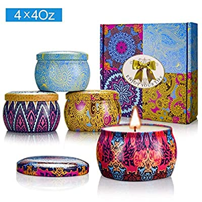 Yinuo Mirror Scented Candles Gift Set