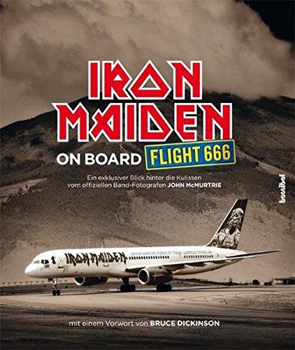 Preisvergleich Produktbild Iron Maiden - On Board Flight 666 (Das offizielle Buch)