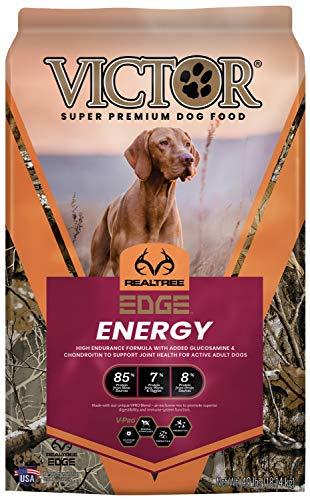 Victor Super Premium Pet Food Realtree Edge Energy, Dry Dog Food, Camo, 40-lb Bag