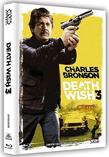 Death Wish 3 (Ein Mann sieht Rot) Limited Uncut Mediabook Edition Cover B (auf 888 Stk limitiert) DVD - Blu-ray