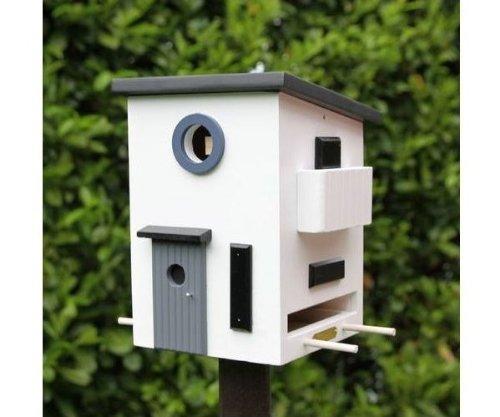 Wildlife Garden - Vogelhaus, Futterhaus, Nistkasten - Bauhaus plus - Holz - WG108