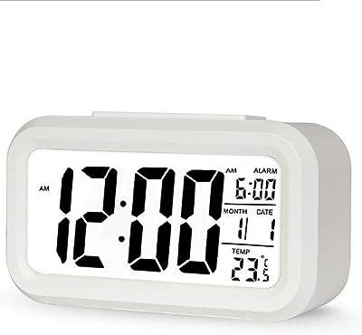 BEI-YI Pequeño Reloj Despertador Tendencia Moda Reloj Despertador Reloj Despertador Moderno Personalidad Creativa Dormitorio