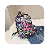 スクールバッグBookbag | 原宿トラベルバックパック男性の大容量レディースメンズ大オックスフォードの学生のバックパック旅行のカップルのラップトップバッグ、ブルー、中国