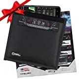 Mission Darkness Non-Window Faraday Bag for Phones // Device Shielding for Law Enforcement, Military, Executive Privacy, Travel & Data Security, Anti-Hacking & Anti-Tracking Assurance
