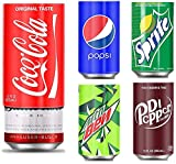 5 Pack Beer Can Covers That Look Like Soda, Hide A Beer Can Soda Covers, Beer Sleeve Fits All 12FL OZ 355ML Regular Size Can