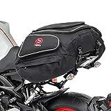 Bagtecs - Motorrad Hecktasche Gepäck-Tasche Motoroller Motorradgepäck für sozius hinten schwarz