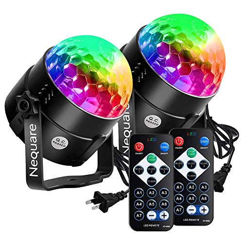 dj light bulb with remote control - 9