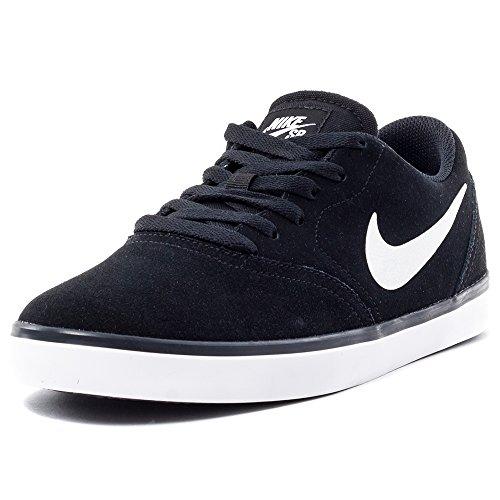 Nike SB Check, Zapatillas de Skateboarding para Hombre, Negro (Black/White 006), 39 EU