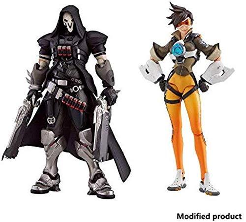 lkw-love Overwatch: Reaper Action Figure - Tracer Action - 2er-Set - Höhe 6 6 Zoll