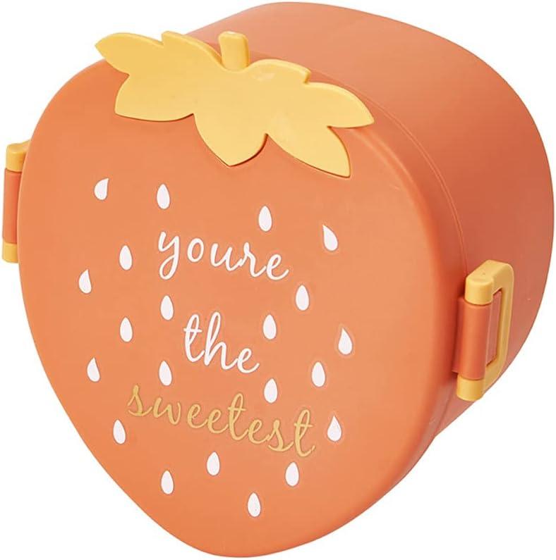 AniYY Caja de almuerzo, caja de comida suplementaria con compartimento para niños calentada en horno microondas aplicable a festivales promoción de publicidad