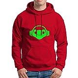 Overwatch Lucio Logo Unisex Hoodie Red Size XL