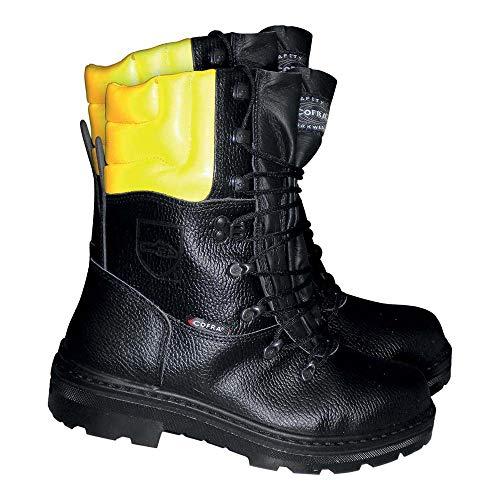 Cofra, Woodsman BIS Botas resistentes a cortes resistentes para trabajadores forestales, 43, Negro
